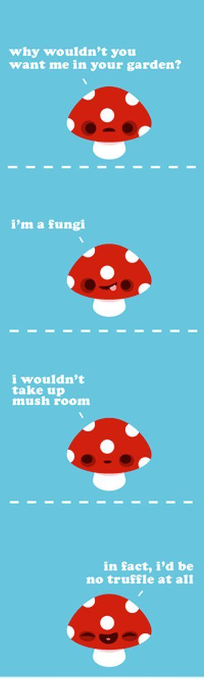 Mushrooms Puns :)
