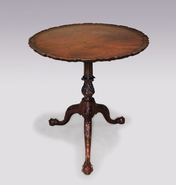 An important mid 18th Century Chippendale period Tripod Table