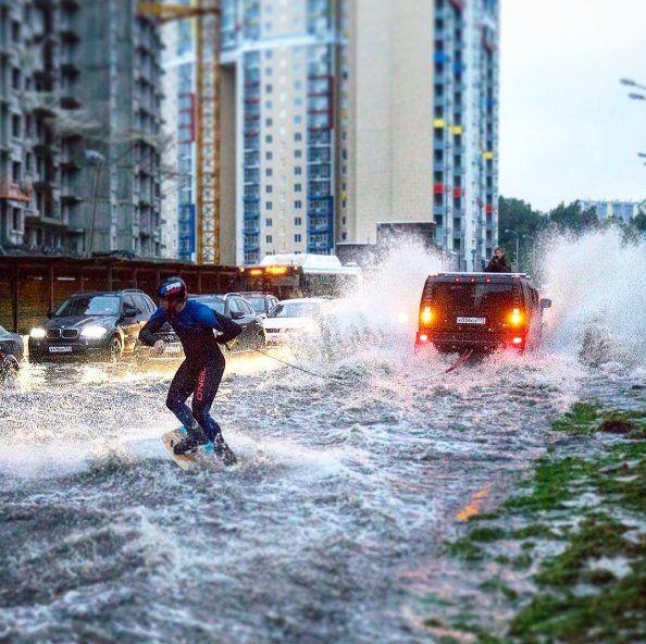 Alluvione lampo da record a Mosca si è trasformata in una ghiotta occasione per…