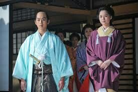 ATSUHIME ー Tenshoin (Atsuhime)and 14th Shogun Iemochi Tokugawa