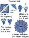 Tea bag Folding placement guides