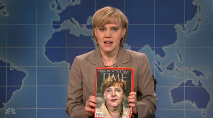 SNL's Angela Merkel Celebrates Being TIME's Person of the Year | Time