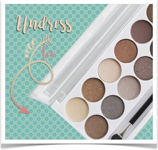 Paleta Cieni MUA Undress Me Too