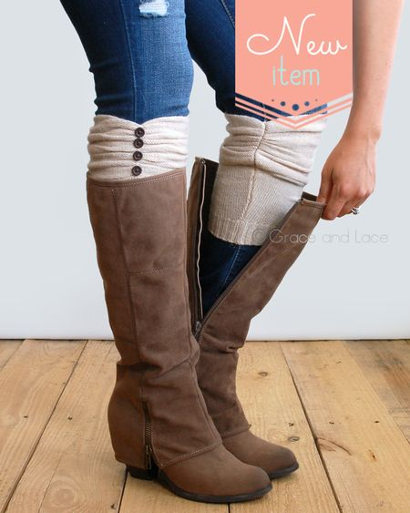 Boot Cuffs And Boot Socks From Grace And Lace From Shark Tank