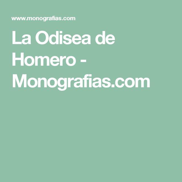 La Odisea de Homero - Monografias.com