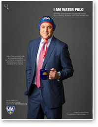 2013 Cap Campaign  Josh Elliot, a news anchor on top-rated morning show, ABC's Good Morning, America. Elliott played water polo at Loyola High School in Los Angeles and is a proud Californian living in New York!