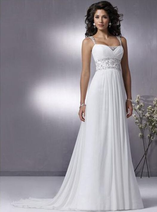 Cheap dress piece, Buy Quality wedding dresses suits directly from China wedding dresses for outside weddings Suppliers: 	Free Shipping New Stock Romantic Sexy Sweetheart salomon vestido de noiva Beading Chiffon Long Beach Wedding Dresses 20