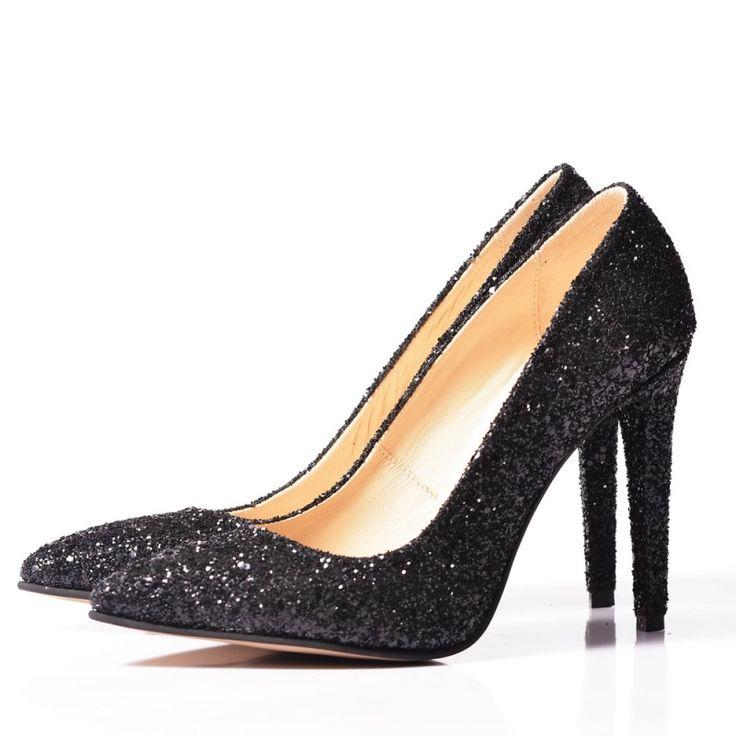 GLITTER Stiletto shoes - romanian designers SHOP ONLINE
