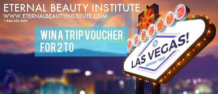 Get a chance to win a trip for 2 voucher to Las Vegas. For more information please follow us on Facebook