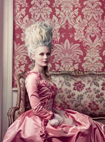 Kirsten in Vogue /Marie Antoinette