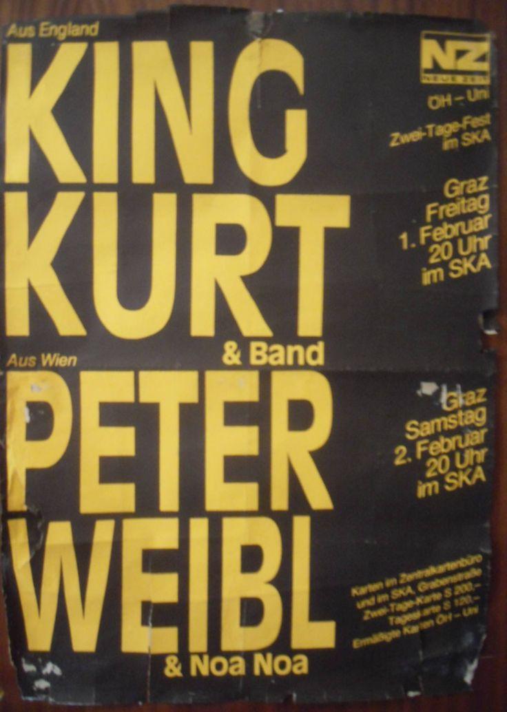 King Kurt - Graz, Austria 1985