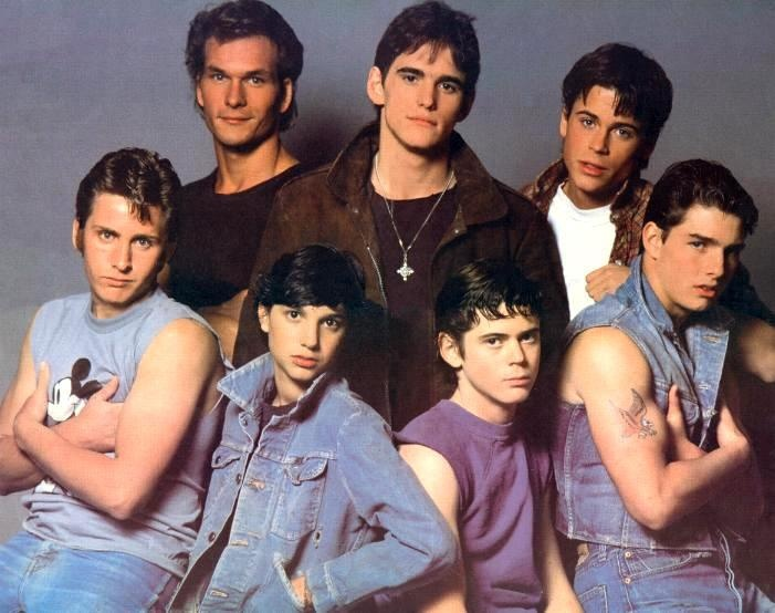 The Cast The Outsiders Pinterest