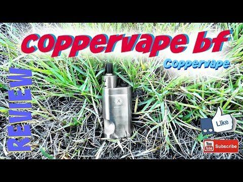 Coppervape ~ Coppervape BF mod squonker ~ πρώτες εντυπώσεις