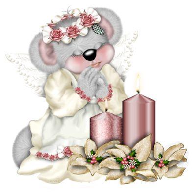 Creddy Тедди Рождество Ангелы - Рождественские темам Изображения