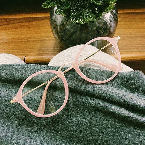 Kawaii Circle Glasses