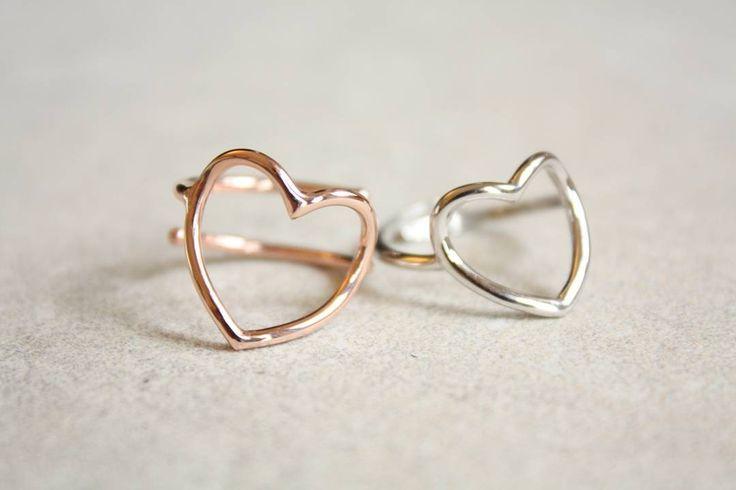 #anelli a #cuore aperto   Completamente in argento 925 e bagnato oro rosa entrambi regolabili  Spedisco in tutta Italia  e il resto del mondo  info whatsapp 3480983737 #armparty #braceletoftheday #bracelet #jewelrygram #jewelry #pubblicita' #blogger #fashionlovers #fashionblogger #webinfluencer #gioielli #gioiello #jewels #accessori #instafashion #fashion #moda #personalizzato #madewithlove #handmade #bijoux #like4like #follow #enjoy #instabracelet #love #vicenza #italianstyle