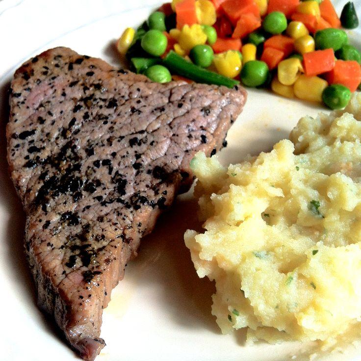 Beef Blackpepper Steak #kuliner #haritage #jogja #beef #steak #selfcreation