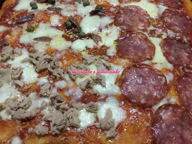 Cucinando e Pasticciando: Pizza in teglia con Lievito Madre