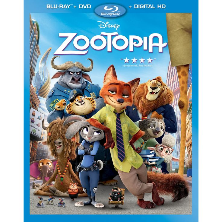 Zootopia (Blu-ray/Dvd), Movies
