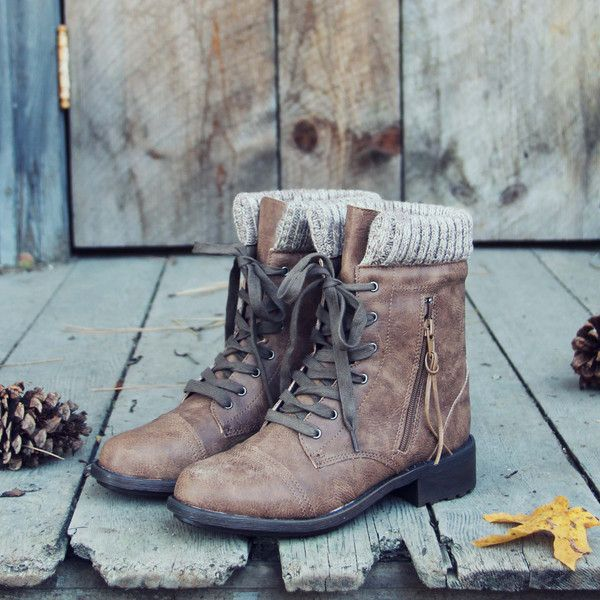 Snowhaven Sweater Boots in Ash, Sweet & Rugged boots from Spool No.72 | Spool No.72