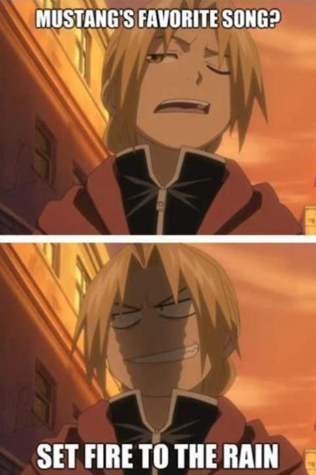 Anime/manga: Fullmetal Alchemist (Brotherhood) Character: Edward Elric, oh Ed.