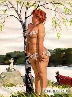 Hilda: Plus Size Beautiful, Duane Bryer, Trees, Hilda Pinup, Pinup Girls, Sweet Girls, Big Girls, Pin Up, Curves