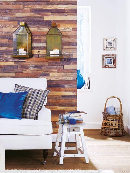 Vorsicht, In Diesem Zimmer Befindet Sich Ein Hochstapler! Denn Was Aussieht  Wie Eine Holzverkleidung Design Inspirations