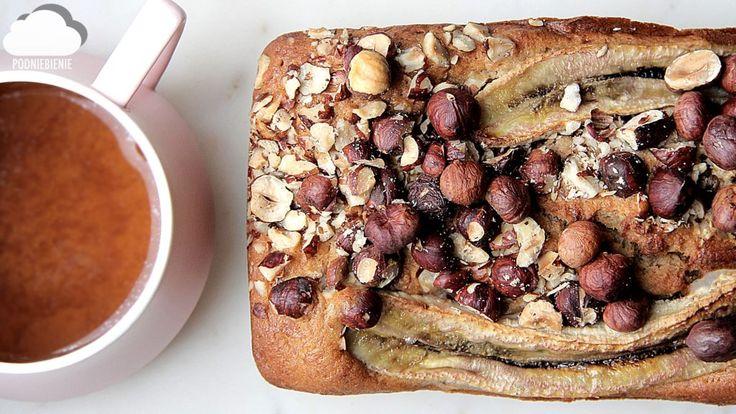 🍞🍌🍯 CHLEB BANANOWY #bananabread #chlebekbananowy #chlebbananowy #banana #bread #PodNiebienie