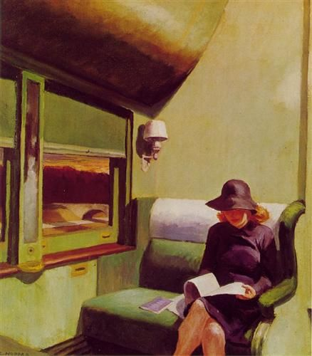 Compartment Car - Edward Hopper