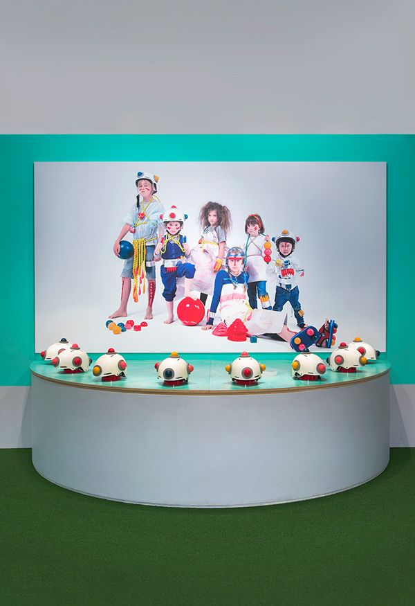 PASTELLO Draw Act   -KidSpace for NGV- by MATHERY, via Behance