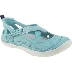 Women's Kalso Earth Shoe Penchant Light Teal Nubuck - Overstock™ Shopping - Great Deals on Kalso Earth Shoe Sandals