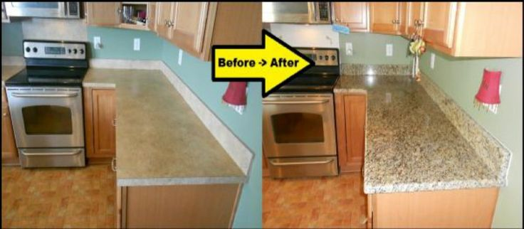 Instant Pvc Counter Top Faux Fake Granite Look Film Overlay Roll Gold 6ft Counter Top Granite