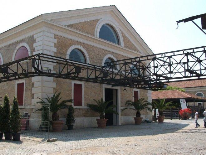 MACRO Testaccio. Padiglione B, esterno. Foto Giorgio Benni