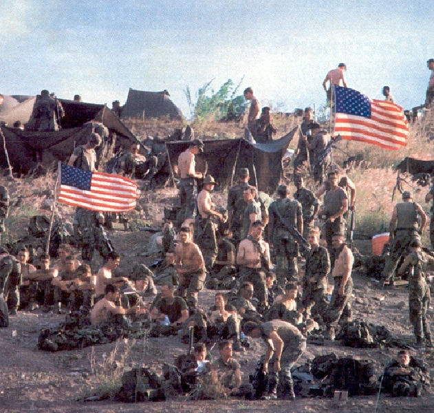the invasion of grenada by the united states Start studying chapter 30 learn vocabulary,  a lying about the invasion of grenada  saddam hussein's invasion of kuwait troubled the united states government .