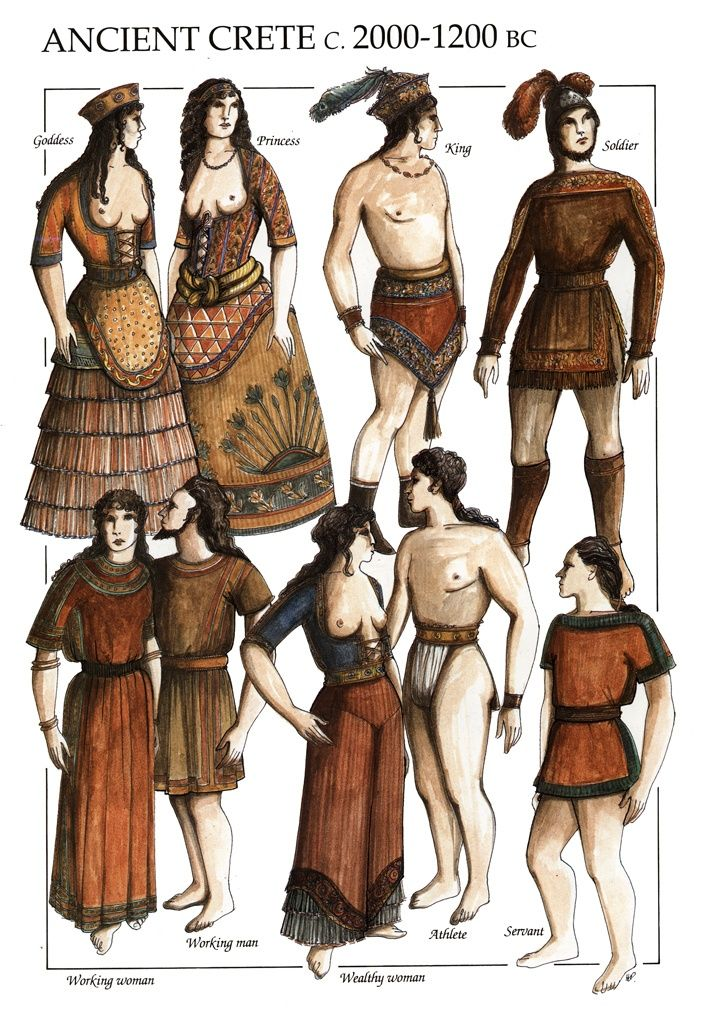 Minoan fashion