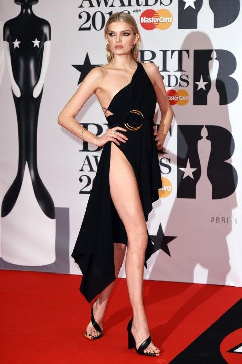 Lily Donaldson At The Brit Awards 2016 on February 24, 2016