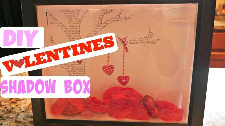 DIY Valentines Shadowbox   Dollar Tree   2017