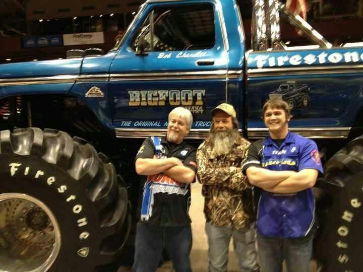 Bigfoot Trucks Pinterest Monster Trucks Ford Trucks
