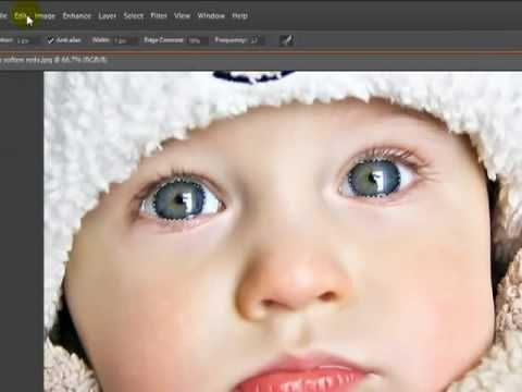photoshop elements - eye tutorial