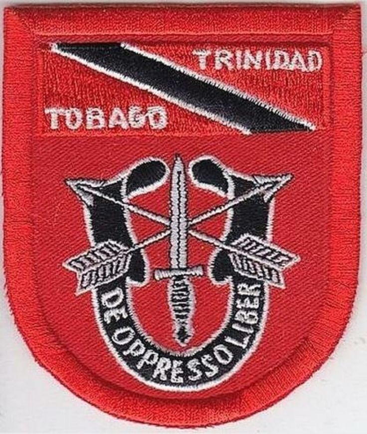 Green Beret US Army Trinidad & Tobago 7th Special Forces Group Airborne