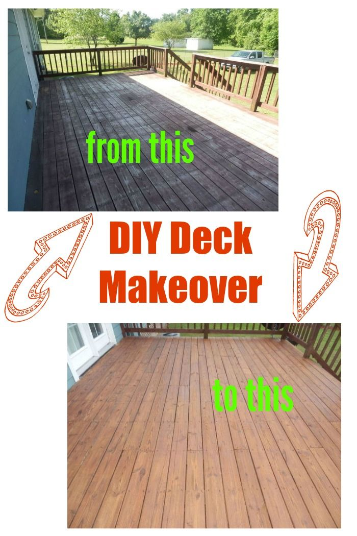 Great tips for a successful deck refinish even when it's condition is far less than perfect.