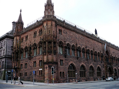 The Scottish National Portrait Gallery (although the building is as impressive as its contents)