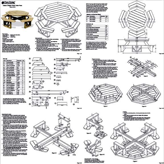 Best 25 octagon picnic table ideas on pinterest octagon picnic build a picnic table malvernweather Images