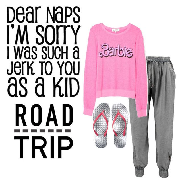 """""""Girl Road Trip"""" by queenmilliefaith ❤ liked on Polyvore featuring Wildfox and Old Navy"""