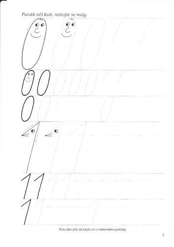 Číslice 0 a 1