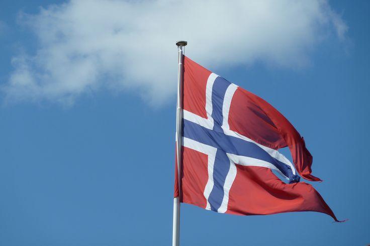 Norwegen Norway Flagge Norge