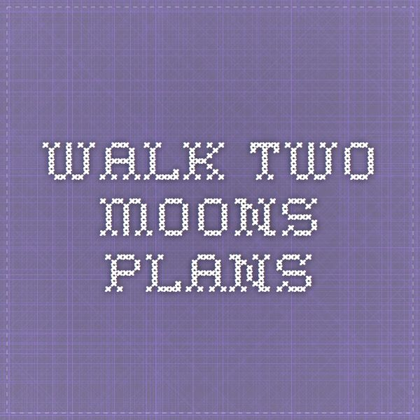walk two moons plans