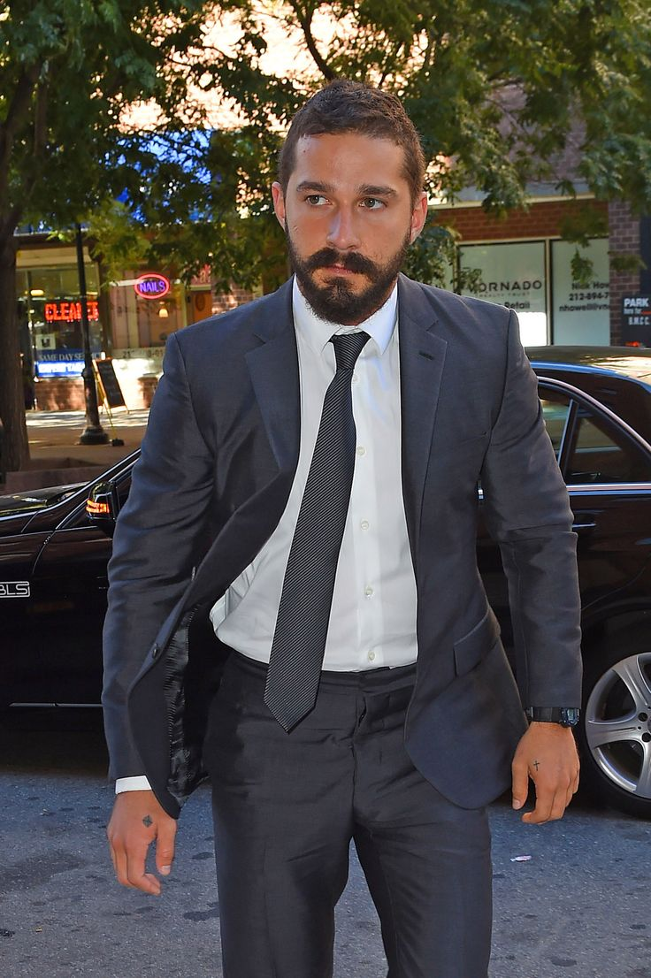Shia LaBeouf Repeatedly Slashed His Own Face for Latest Movie 'Fury' | In Touch Weekly