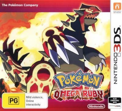 Just listed: 3DS Pokemon Omega... Check it out here!  http://www.thegamescorner.com.au/products/3ds-pokemon-omega-ruby?utm_campaign=social_autopilot&utm_source=pin&utm_medium=pin