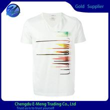 New design mens v-neck cheap combed cotton t shirts in white  best buy follow this link http://shopingayo.space